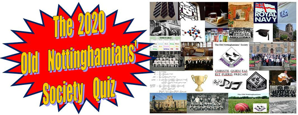The Hammond Property Services Old Nottinghamians Society 2020 Quiz